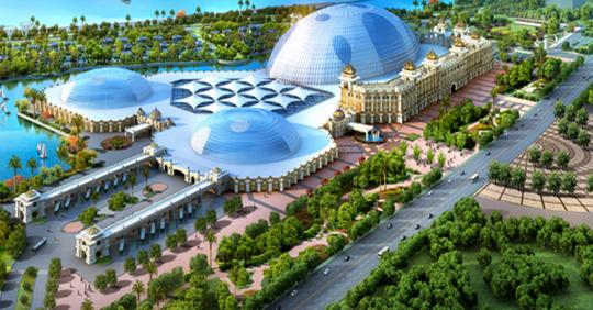 亿元,廊坊天山海世界项目榜上有名.